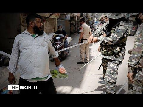 कोरोनावायरस: भारतीय पुलिस ने लेबल किया, अपराधी, क्रूर बल & # 39; | दुनिया