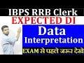 IBPS RRB Clerk Maths Expected DI Questions | Data Interpretation