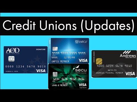 Credit Union Updates and Approval Strategy (AODFCU, SECU, NIHFCU, DCU)