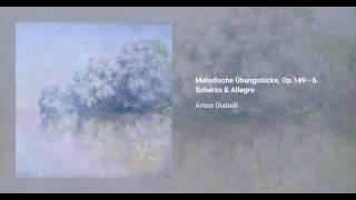Melodische Übungstücke, Op.149