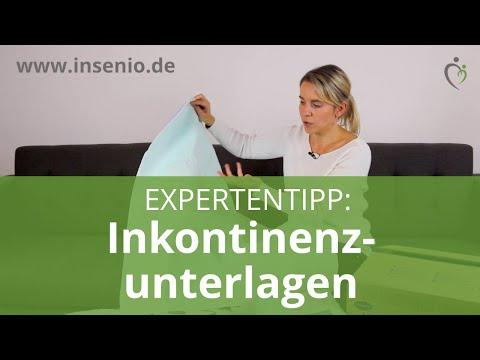 Inkontinenzunterlagen - Produkttipps und Expertentipps von Nora (Krankenschwester)