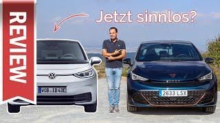Cupra Born vs. ID.3: Ausstattung, Preise & Testfahrt im Vergleich / Born günstiger & besser?