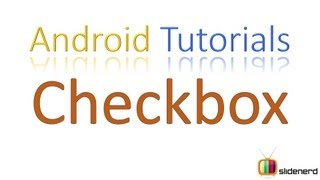 #69 Android Tutorial For Beginners: Checkbox in Android [HD 1080p]