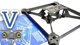 Source V Frame overview - TBS Open Source Vertical box drone racing frame Vertical Racing Frame