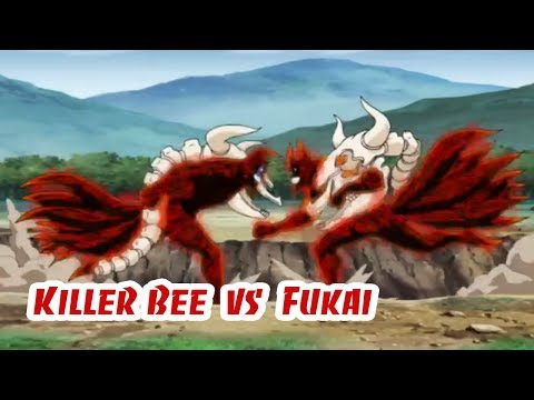 Killer Bee vs Fukai Sub Indonesia ★ Fan Naruto Kun