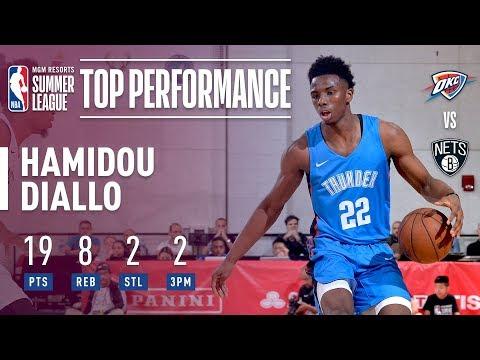 Hamidou Diallo Tallies 19 Points In 2018 MGM Resorts Las Vegas Summer League!