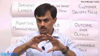 Role of Manager/Leader in Agile