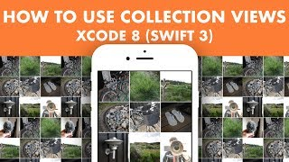 How To Use Collection Views In Xcode 8 (Swift 3)