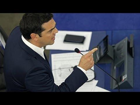 Έντονη κριτική αλλά και συμμάχους συνάντησε ο Τσίπρας στην Ευρωβουλή