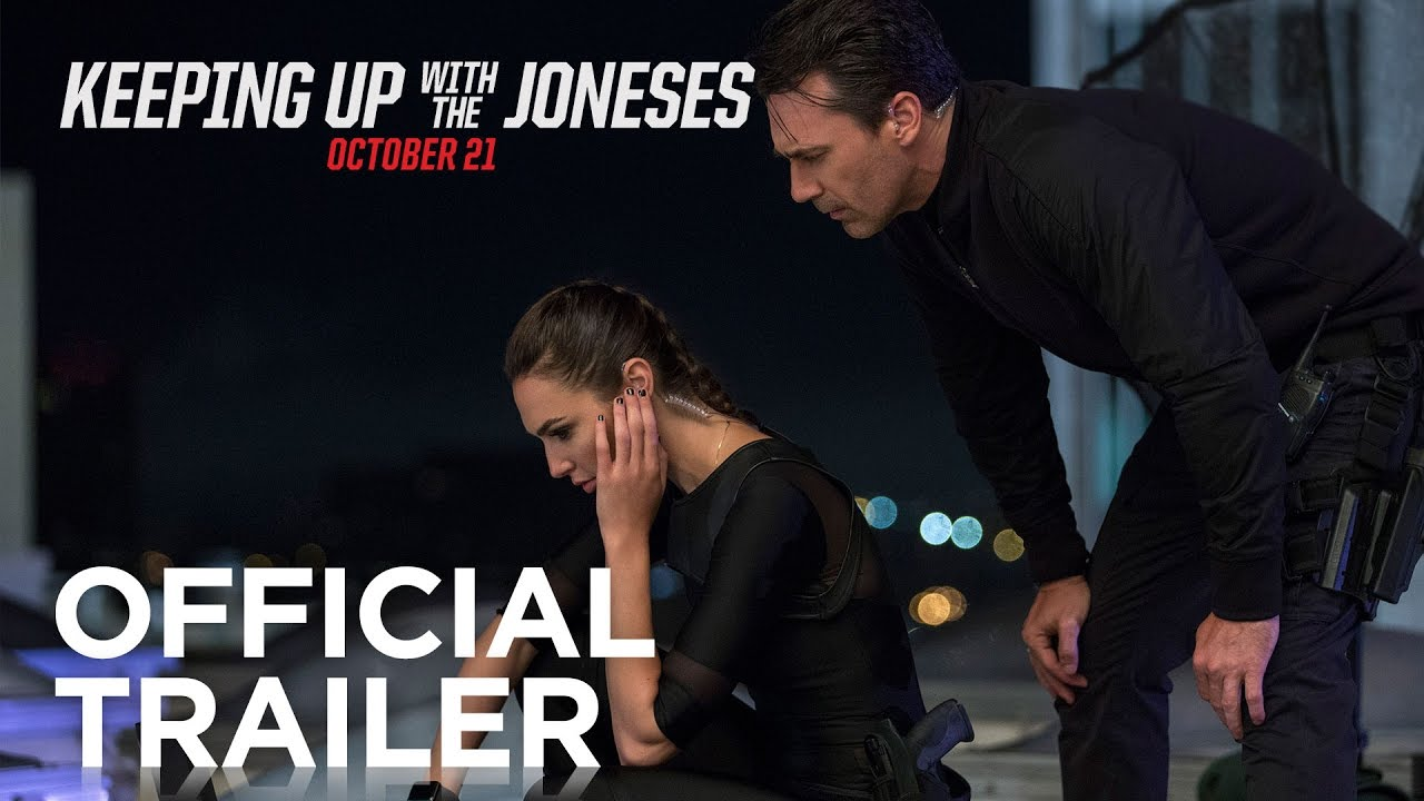 Video trailer för Keeping Up With the Joneses | Official Trailer [HD] | 20th Century FOX