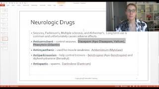 Pharmacology Categories and Common Drugs - Dentalelle Tutoring