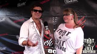 Miljenko Matijevic of Steelheart - Live Interview at RockFest '80s