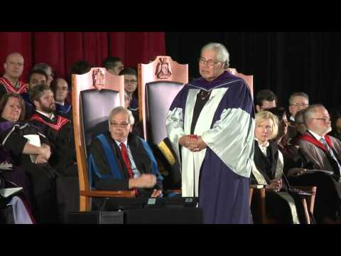 The Honourable Justice Murray Sinclair awarded degree of Doctor of Laws