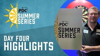 NINE-DARTER! | PDC Summer Series Highlights | Day Four