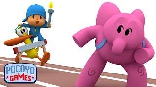 Pocoyo Games: Salto de vallas