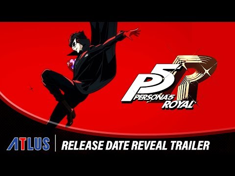Persona 5 Royal  release date reveal trailer de Persona 5 Royal