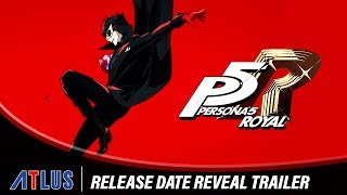 Persona 5 Royal | Release Date Reveal Trailer (FRA)