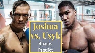 Anthony Joshua Vs. Oleksandr Usyk Predictions From The Boxing Pros