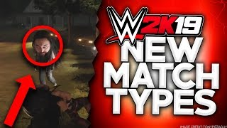 WWE 2K19 All NEW Match Types REVEALED! (Fatal 5-Way Matches, Wyatt Compound, Big Heads & More)