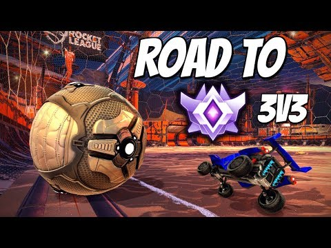 DESTROYING Grand Champion / Champ 3s in 3v3 (Rocket League Gameplay)