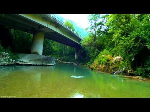 Il fiume Kuban di pesca video