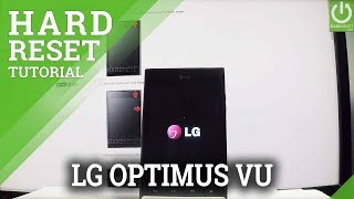 LG Optimus Vu HARD RESET / Wipe Data / Factory Reset
