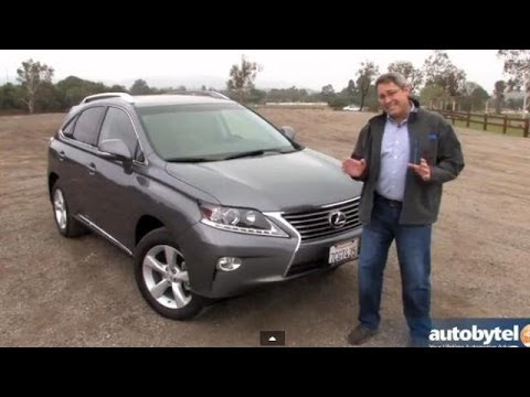 2014 Lexus RX 350 Luxury Crossover Video Review