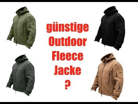 Günstige Outdoor-Fleece-Jacke die was taugt!