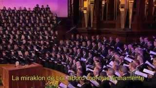 La Ĉieloj Rakontas - Mormona Tabernakla Ĥoro