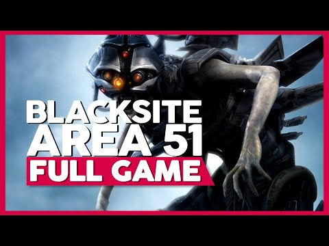 Blacksite: Area 51 | PC 60ᶠᵖˢ | Full Gameplay/Playthrough | No Commentary