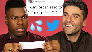 John Boyega and Oscar Isaac Read Hilarious Thirst Tweets
