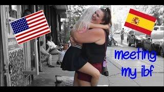 MEETING MY INTERNET BEST FRIEND♥ USA-SPAIN