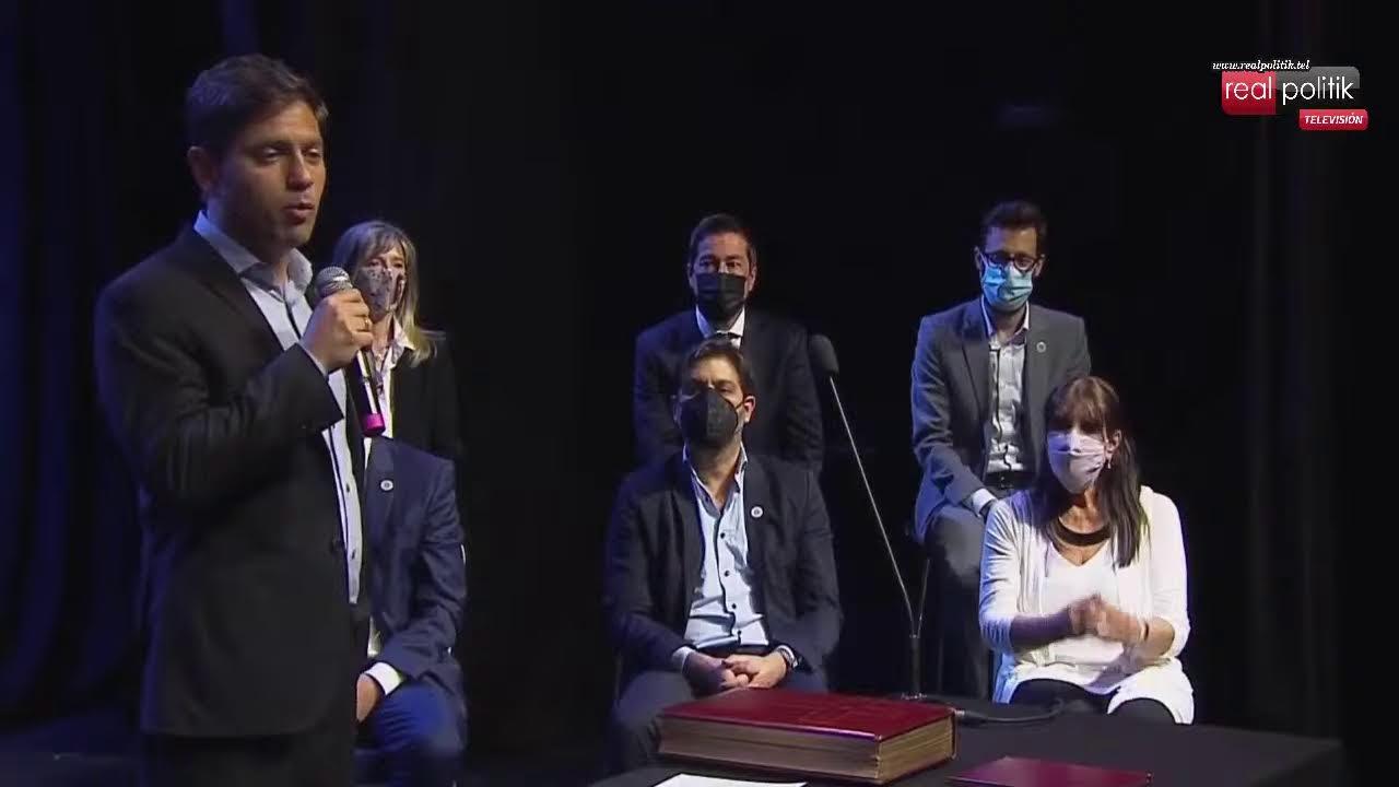 Kicillof tomó juramento a los nuevos ministros bonaerenses
