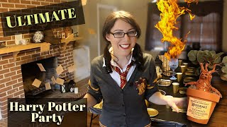 Harry Potter Party Ideas DIY: ULTIMATE
