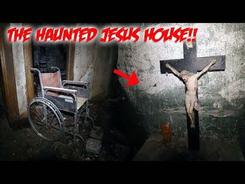 Download FOUND JESUS IN A HAUNTED HOUSE -  SO HAUNTED THEY LEFT EVERYTHING INSIDE!! HD Mp4 3GP Video and MP3