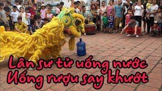 NVT múa lân sư rồng uống nước| Dạy bé học múa lân sư rồng vui cùng ngày hôi