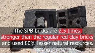 Silica Plastic Block- 2.5 times stronger than clay bricks| Sustainable Material |Surfaces Reporter