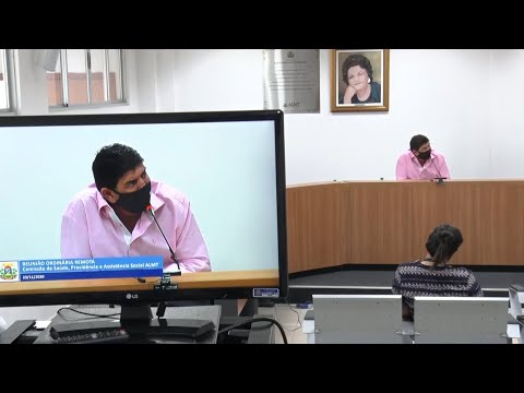 Comissão de Saúde debate a automedicação e retorno das atividades no Parlamento Estadual