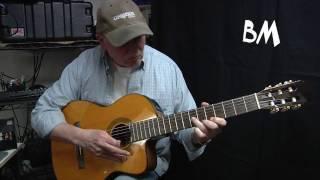 La Playa - A Claude Ciari Guitar Instrumental Cover by Bills Music