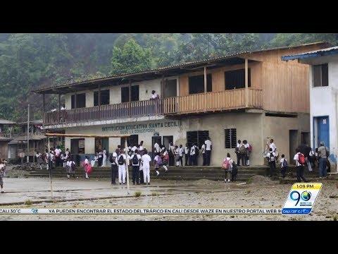 Comunidades del Alto Naya denuncian baja tasa de escolaridad en la zona