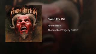 Blood For Oil