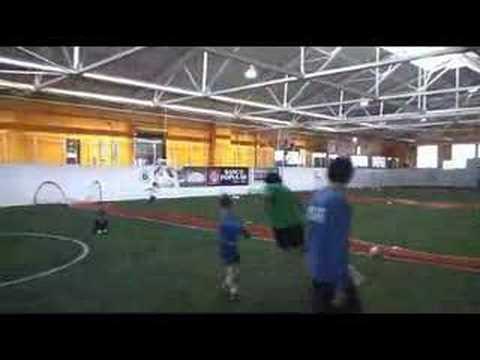 An indoor soccer surprise in Pilsen