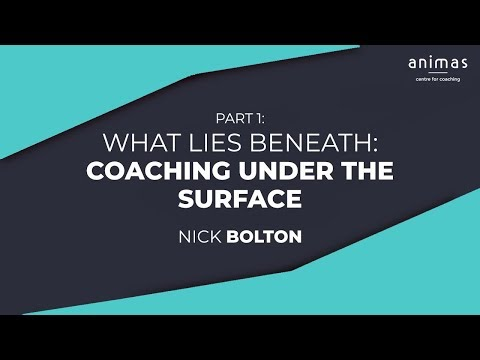 What Lies Beneath – Coaching under the Surface (Part 1)