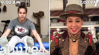 A Rockette's Entire Routine, from Waking Up to Showtime   Allure