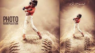 Kids Baseball - Photoshop Manipulation Tutorial