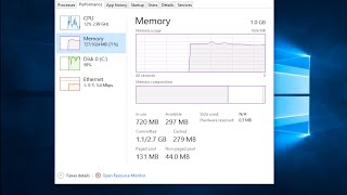 How To Fix High Memory/RAM Usage In Windows 10