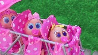 Baby Doll Play with Bobozidades ! Toys and Dolls Fun for Kids Playing with New Distroller Babies - Video Youtube