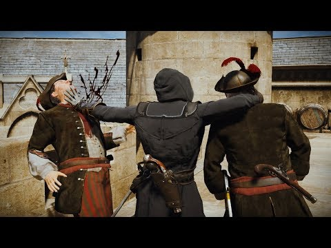 Assassin's Creed Unity Stealth Kills (Eliminate Rouille)
