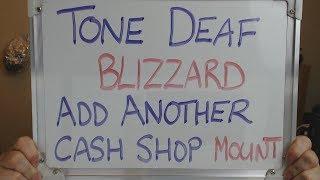 TONE DEAF Blizzard Add ANOTHER Unique Mount to the CASH SHOP !!
