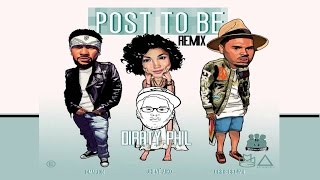 Omarion Ft Chris Brown And Jhene Aiko Post To Be Lyrics